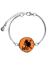 Leo Horoscope Metallic Circle Bracelet thumbnail