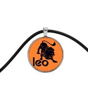 Leo Horoscope Cord Circle Necklace thumbnail