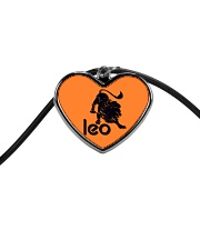 Leo Horoscope Cord Heart Necklace tile