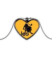 Leo Horoscope Metallic Heart Necklace thumbnail