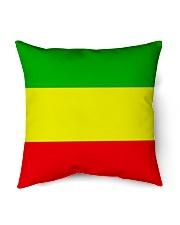 "RASTA COLORS ONE LOVE Indoor Pillow - 16"" x 16"" thumbnail"