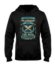 EVERYBODY IS A PLUMBER Hooded Sweatshirt thumbnail