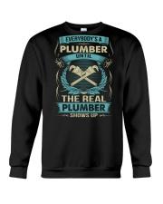 EVERYBODY IS A PLUMBER Crewneck Sweatshirt thumbnail