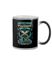EVERYBODY IS A PLUMBER Color Changing Mug thumbnail