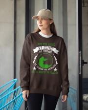 i am sniper gamer Crewneck Sweatshirt apparel-crewneck-sweatshirt-lifestyle-front-12