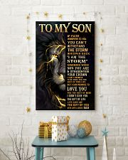TO MY SON  24x36 Poster lifestyle-holiday-poster-3