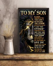 TO MY SON  24x36 Poster lifestyle-poster-3
