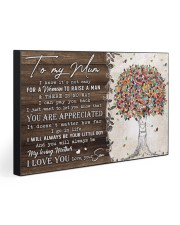 TO MY MUM FROM SON 30x20 Gallery Wrapped Canvas Prints thumbnail