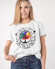 WHAT A WONDERFUL WORLD  Classic T-Shirt apparel-classic-tshirt-lifestyle-front-100