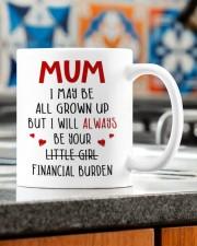 YOUR FINANCIAL BURDEN Mug ceramic-mug-lifestyle-57