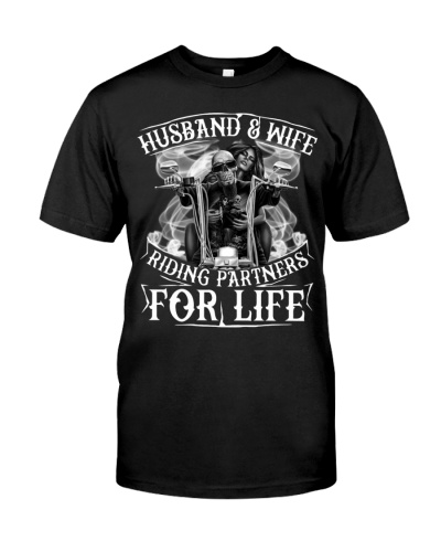 HUSBAND WIFE RIDING PARTNERS FOR LIFE - MB355