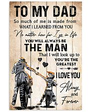 TO MY DAD  11x17 Poster thumbnail