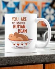 YOU ARE MY FAVOURITE HUMAN BEAN Mug ceramic-mug-lifestyle-57