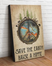 SAVE THE EARTH RAISE A HIPPIE 20x30 Gallery Wrapped Canvas Prints aos-canvas-pgw-20x30-lifestyle-front-14