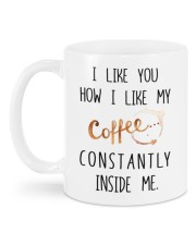 MY COFFEE CONSTANTLY INSIDE ME  Mug back