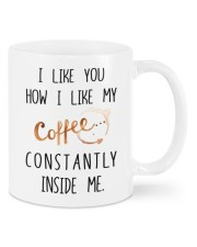 MY COFFEE CONSTANTLY INSIDE ME  Mug front