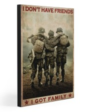I GOT FAMILY  20x30 Gallery Wrapped Canvas Prints front