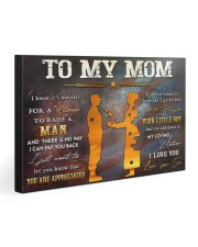 TO MY MOM - 126T03 30x20 Gallery Wrapped Canvas Prints front