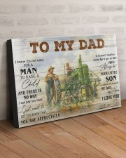 TO MY DAD - FARMER 30x20 Gallery Wrapped Canvas Prints aos-canvas-pgw-30x20-lifestyle-front-07