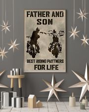 FATHER AND SON BEST RIDING PARTNERS FOR LIFE 11x17 Poster lifestyle-holiday-poster-1