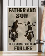 FATHER AND SON BEST RIDING PARTNERS FOR LIFE 11x17 Poster lifestyle-poster-4