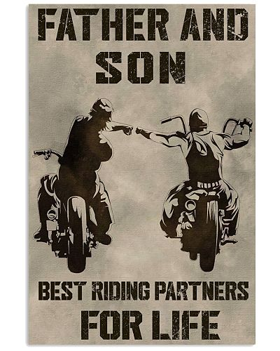 FATHER AND SON BEST RIDING PARTNERS FOR LIFE