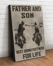FATHER AND SON BEST RIDING PARTNERS FOR LIFE 20x30 Gallery Wrapped Canvas Prints aos-canvas-pgw-20x30-lifestyle-front-14