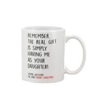HAVING ME AS YOUR DAUGHTER  Mug front