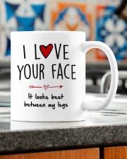 IT LOOKS BEST BETWEEN MY LEGS Mug ceramic-mug-lifestyle-57