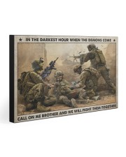 WE WILL FIGHT THEM TOGETHER 30x20 Gallery Wrapped Canvas Prints front