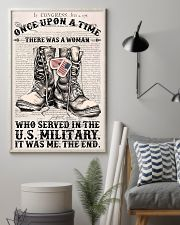 A WOMAN WHO SERVED IN THE US MILITARY 16x24 Poster lifestyle-poster-1