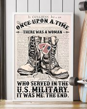 A WOMAN WHO SERVED IN THE US MILITARY 16x24 Poster lifestyle-poster-4