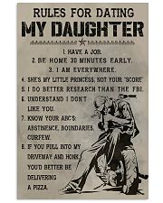 RULES FOR DATING MY DAUGHTER  Vertical Poster tile