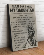 RULES FOR DATING MY DAUGHTER  20x30 Gallery Wrapped Canvas Prints aos-canvas-pgw-20x30-lifestyle-front-14