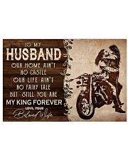 TO MY HUSBAND 17x11 Poster thumbnail