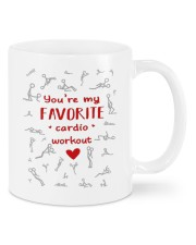 MY FAVORITE CARDIO WORKOUT Mug front