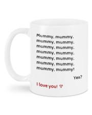 MUMMY I LOVE YOU  Mug back