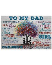 TO MY DAD - MB206 24x16 Poster front