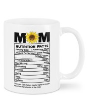 NUTRITION FACTS Mug front
