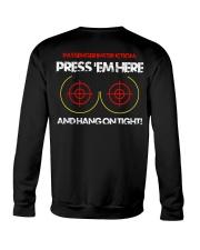 PRESS'EM HERE AND HANG ON TIGHT - MB325 Crewneck Sweatshirt thumbnail
