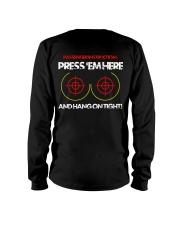 PRESS'EM HERE AND HANG ON TIGHT - MB325 Long Sleeve Tee thumbnail