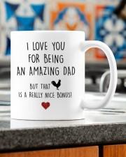 LOVE YOU FOR BEING AN AMAZING DAD  Mug ceramic-mug-lifestyle-57