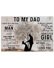 TO MY DAD - MB151 24x16 Poster front