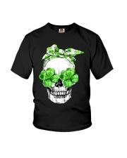 SHAMROCK SKULL Youth T-Shirt thumbnail