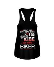I DO RIDE MY OWN BIKER  - MB247 Ladies Flowy Tank thumbnail