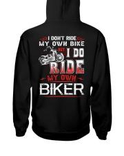 I DO RIDE MY OWN BIKER  - MB247 Hooded Sweatshirt thumbnail