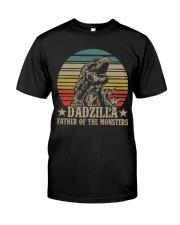 DADZILLA - MB32 Classic T-Shirt front