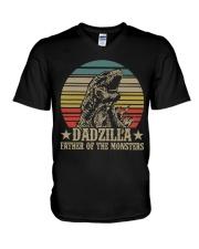 DADZILLA - MB32 V-Neck T-Shirt thumbnail