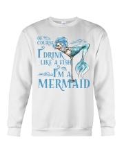 I'M A MERMAID - MB135 Crewneck Sweatshirt thumbnail