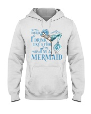 I'M A MERMAID - MB135 Hooded Sweatshirt thumbnail